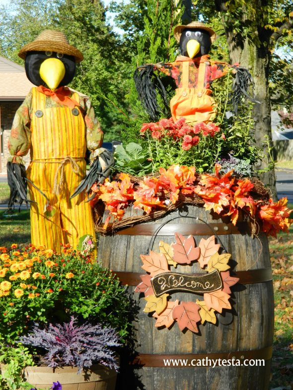 Welcome Birds Autumn at Business in Enfield, CT