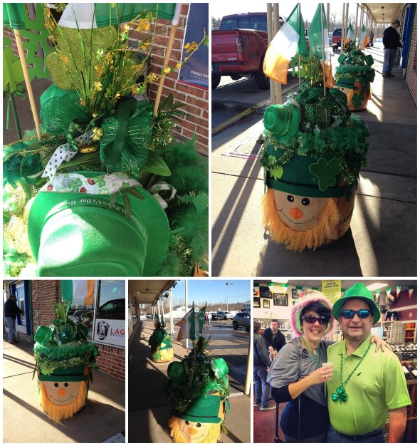A festive St. Patty's Day theme for a business owner who's Irish!  Customers Love This!