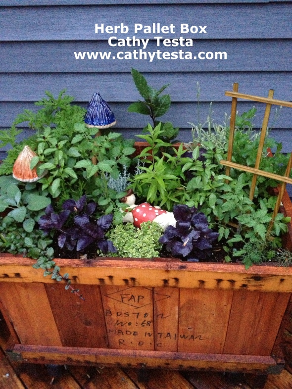 Who can beat an herb garden at your finger tips!