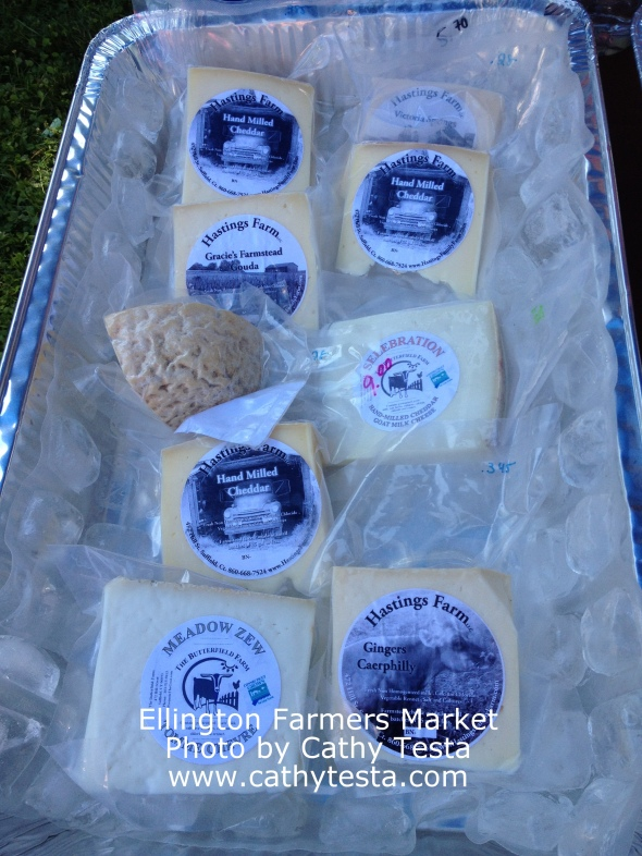 Various cheese makers offerings, go see Margaret!