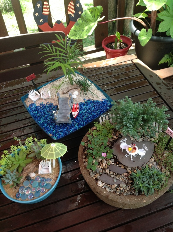 Miniatures Garden Workshop Coming Up