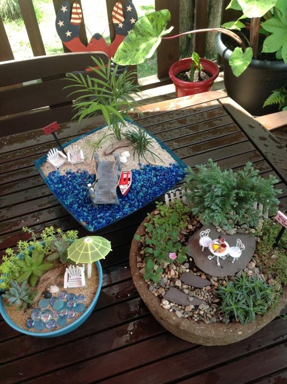 Miniatures Garden Workshop Coming Up
