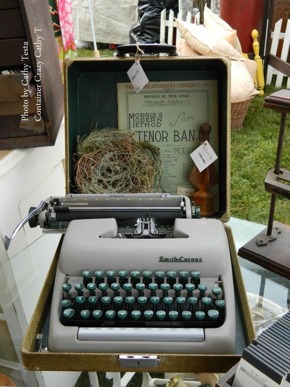 Old Typewriter as Decor