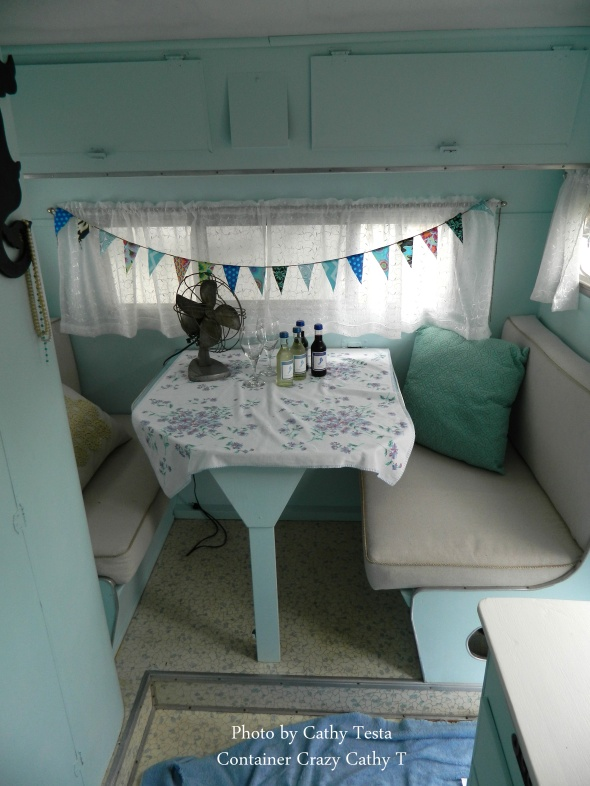 Interior of Trailer