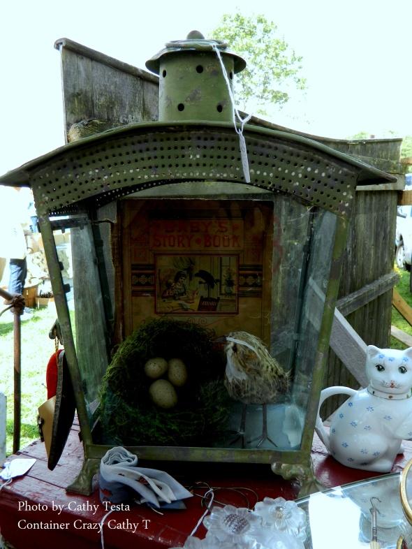 Lantern with Nature Decor