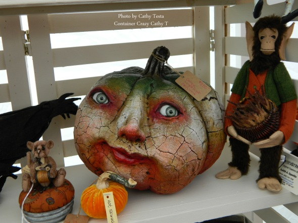 Pumpkin Heads by Vergie Lightfoot
