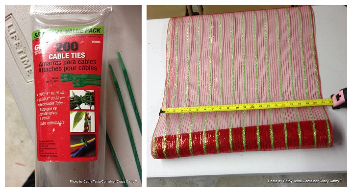 Three Easy Ways to Use Mesh Ribbon for Holiday Decorating (1/6)
