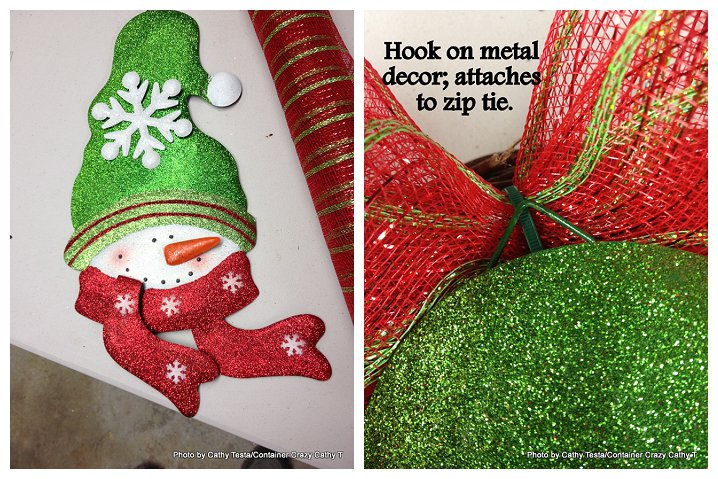 Three Easy Ways to Use Mesh Ribbon for Holiday Decorating (5/6)