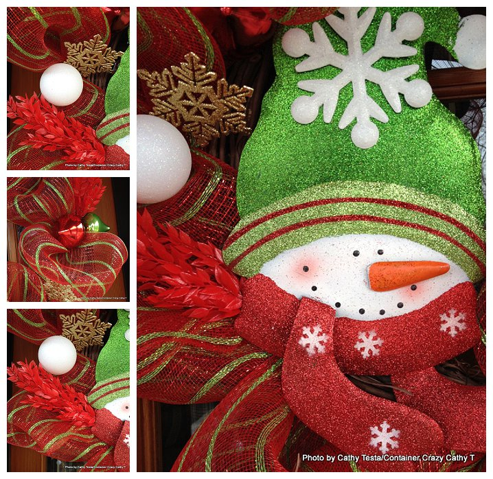 Three Easy Ways to Use Mesh Ribbon for Holiday Decorating (6/6)