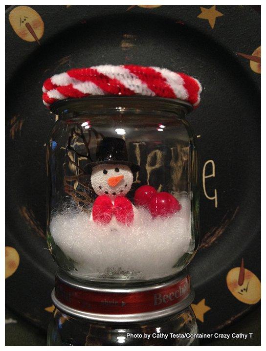 Mini Snowman Jar_0004