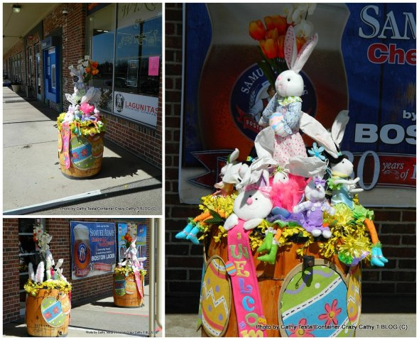 Easter Install for Business Storefront