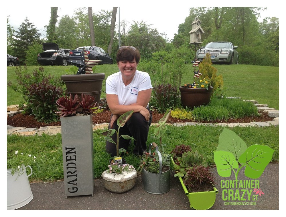 Cathy T at the Ellington Farmers Market - Edibles, Succulents, and More (4/6)