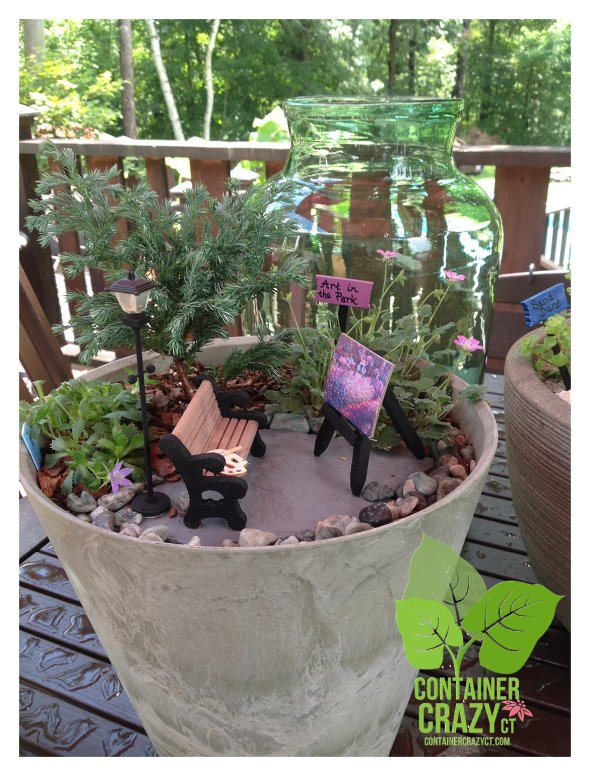 Miniature Garden by Rhonda Niles of Gardening Inspirations