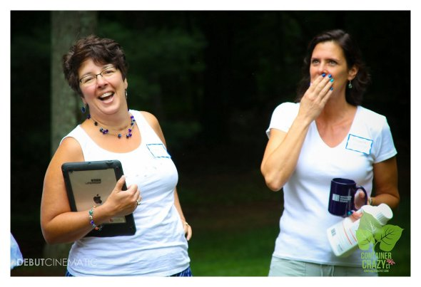 Cathy T and Rhonda's reaction to a funny intro story!