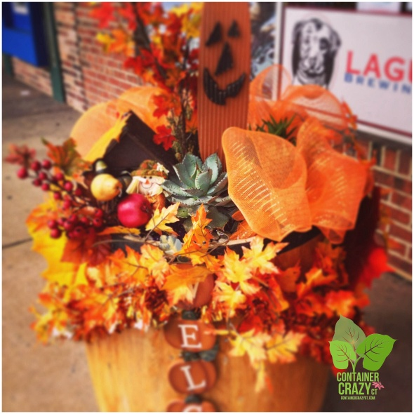 Autumn Installation for Store-Front