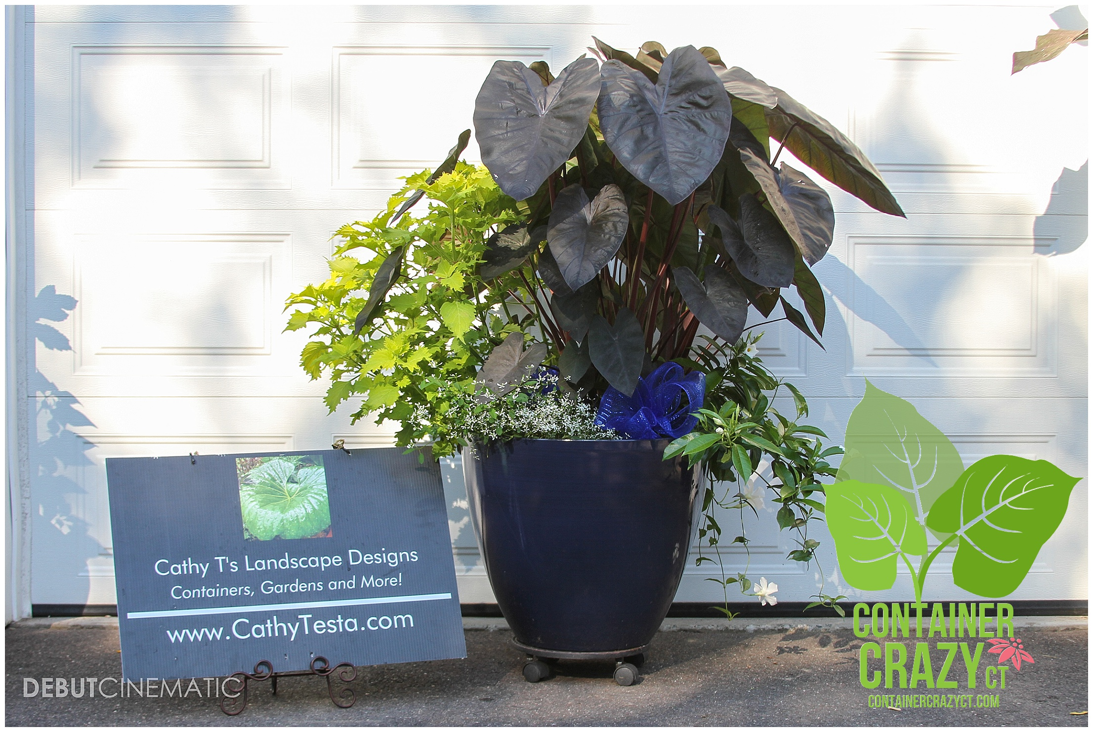 Frost Garden Pots Store front business containers container crazy ct example of container garden pots done for a wedding client workwithnaturefo