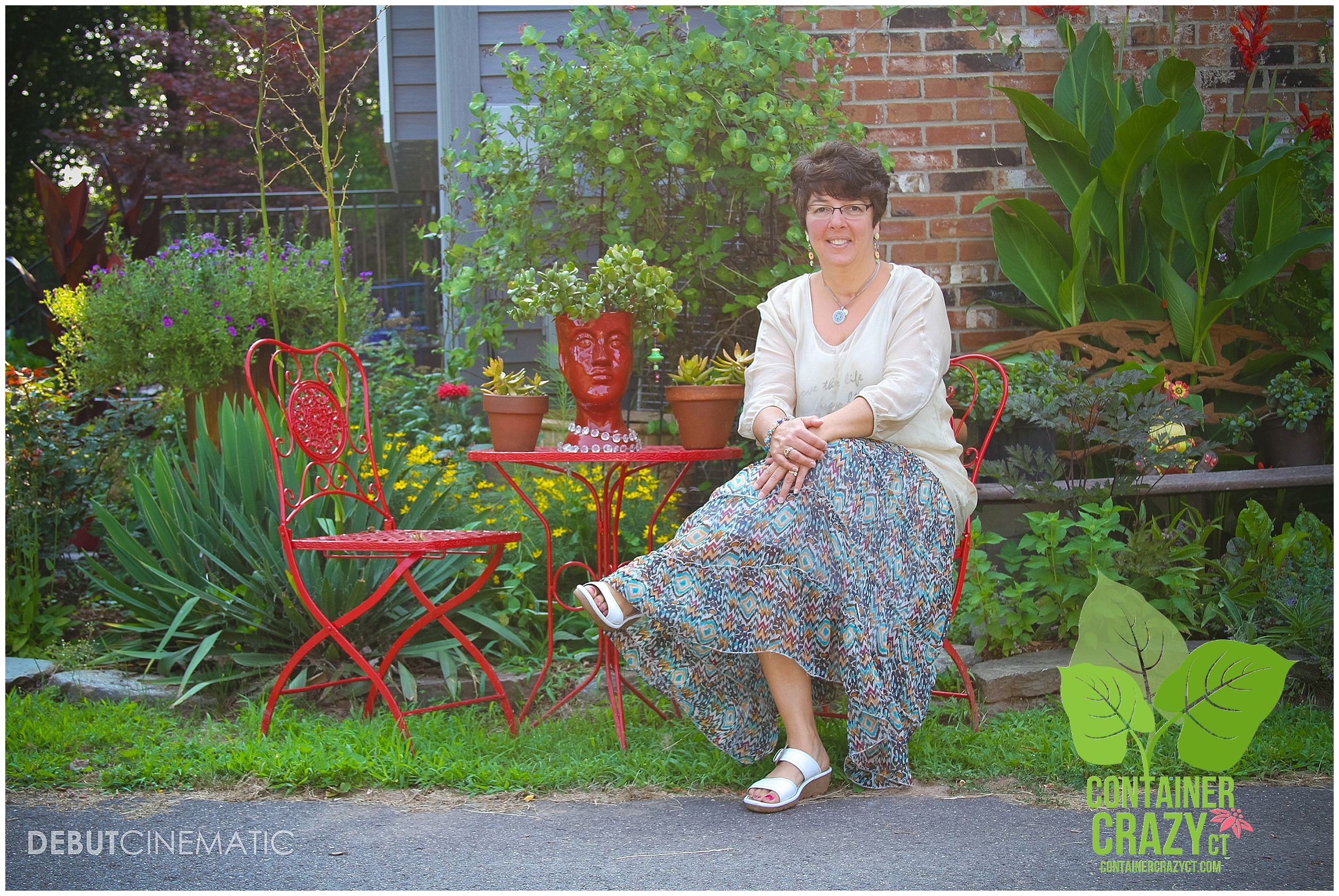 Cathy T at her home in East Windsor, CT