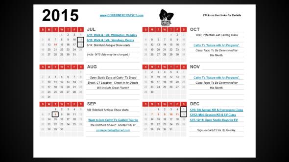 ContainerCrazyCT 2015 Calendar (3)