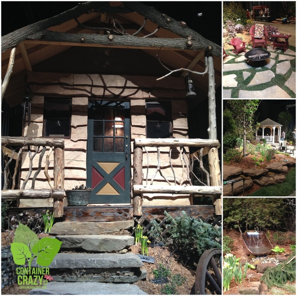 First Landscape Display Seen at the Show