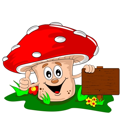 Cartoon Mushroom Image by MisterGC of FreeDigitalPhotos.net
